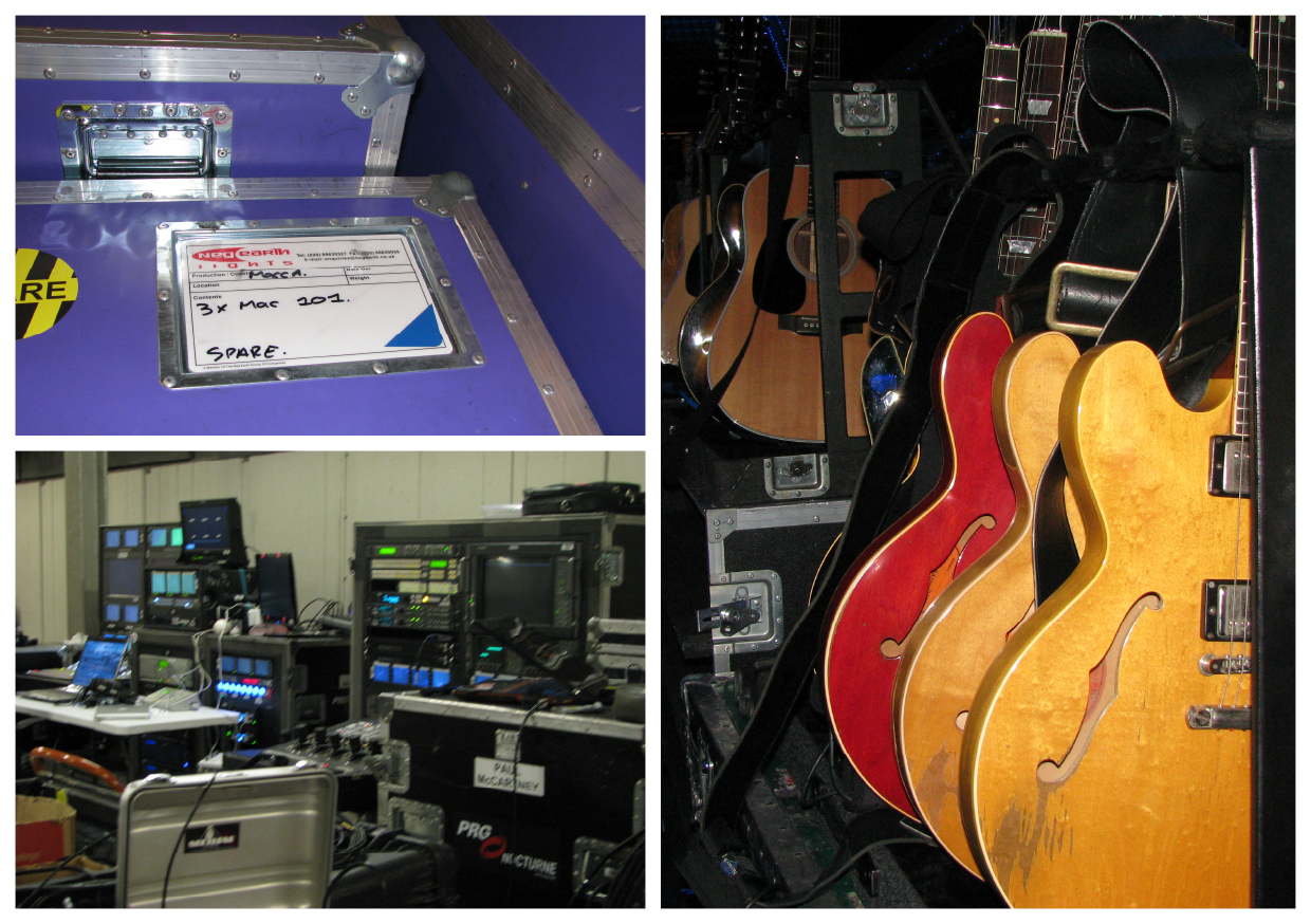 Backstage in Ahoy' Rotterdam.