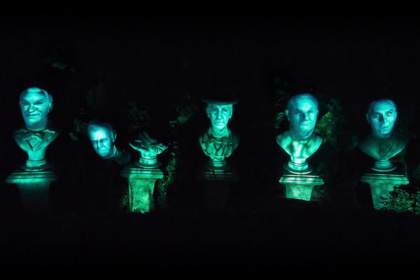 De freaky Haunted Mansionkoppen